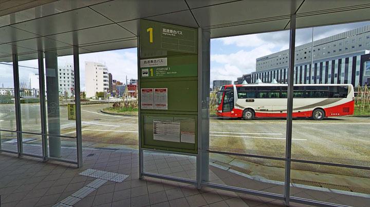 石川金沢の高速バスのりば「金沢駅西口ロータリー」の周辺情報をご紹介!カフェやシャワー、コンビニ情報も!