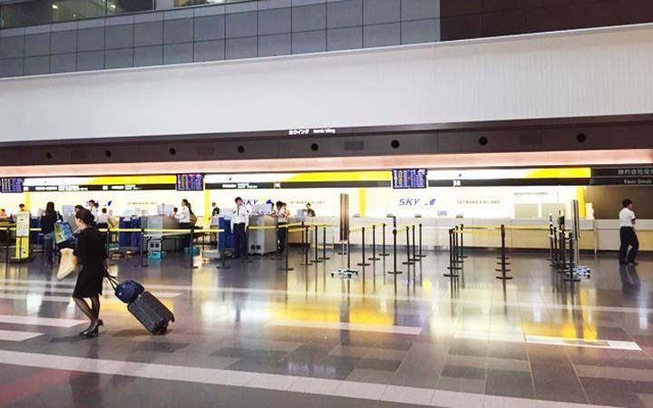 スカイマークの手荷物事情やチェックイン受付時間、カウンターの場所・営業時間は?