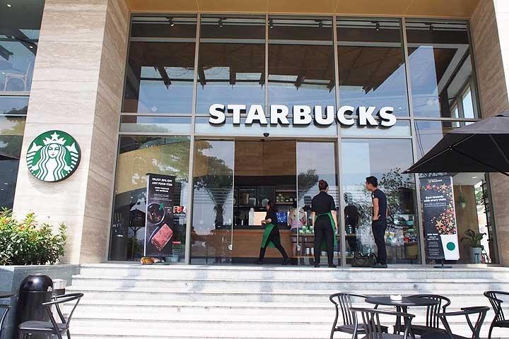 番外編:ダナンのスターバックスコーヒーは一店舗!
