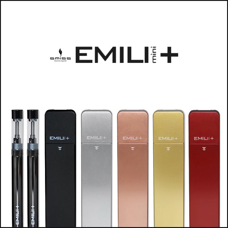 リキッド補充式電子タバコランキング第1位のEMILI mini+(エミリミニプラス)