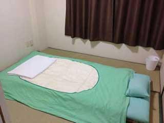 ブルーライナーの乗務員仮眠施設イメージ