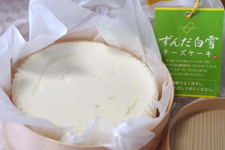 仙台にあるずんだチーズケーキのおすすめ人気店「ずんだ茶寮」