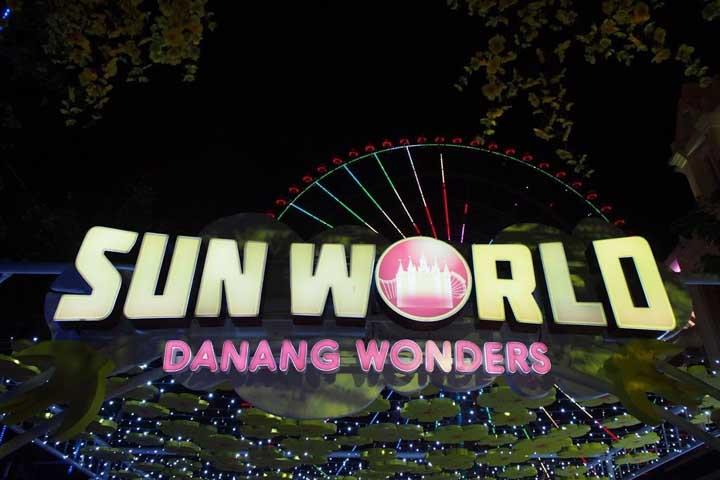 ダナンの観光スポット「アジアパーク」は夜に楽しむ遊園地