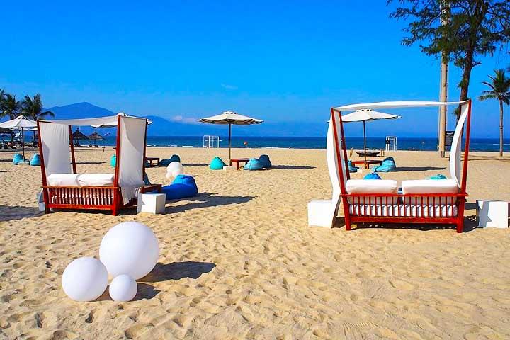 プルマン・ダナン・ビーチ・リゾート「プライベートビーチ」